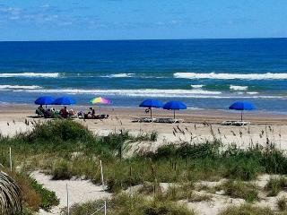 Beachfront, Gulf views, lg balcony, updated, FREE, Isla del Padre Sur