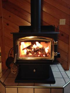 Romantic Wood Burning Stove with FREE firewood