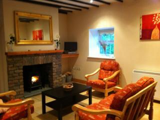 Snug Lounge-area with Wood-Burning Stove