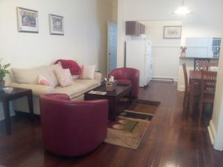 Living room from door to front bedroom
