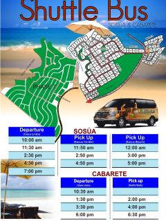 FREE Shuttle bus to Sosua and Cabarete
