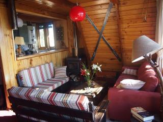 living w/wood stove