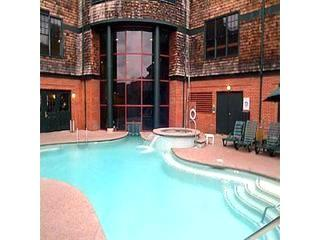 One of two pools. Relaxing heated indoor outdoor pool with adjoining hot tub