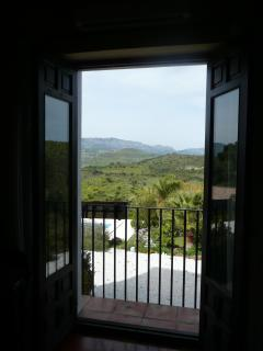 a view from one of the bedrooms