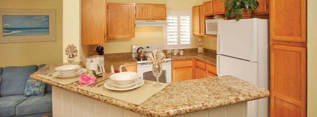 Full Size Fully Equipped Kitchen w/Dishwasher includes all pots, pans, bakeware, coffeemaker etc.