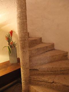 l'ecalier à vis