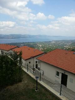 Balcony view overlooking Sapanca lake