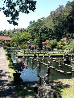 Most wonderful place to visit Tirtiganga Water Palace