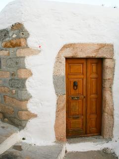 Front Door of Frances House
