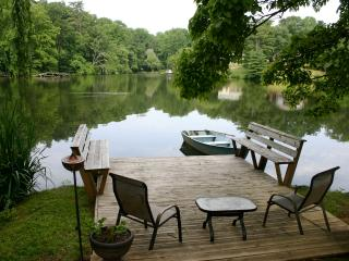 Full access to gardens, dock and fire pit