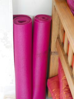 Yoga mats fro your delight!
