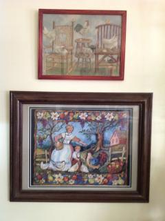 Folk art tells a story.