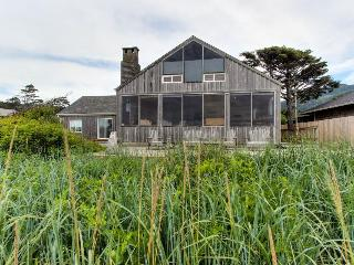 Oceanfront, dog-friendly home with fantastic ocean views, Arch Cape