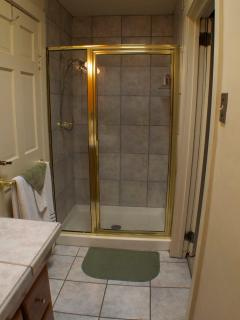 Upstairs Bathroom Shower