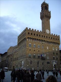 Palazzo Vecchio, less than 5 minutes from the apartment