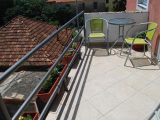 Studio with balcony in Dalmatia