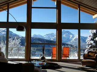 Swiss Alps, Villars, 6 bedroom contemporary chalet