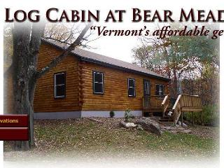 Vermont Log Cabin available for weekend and weekly