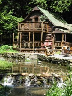 Authentic, Vintage Log Cabin in the Pa Wilds