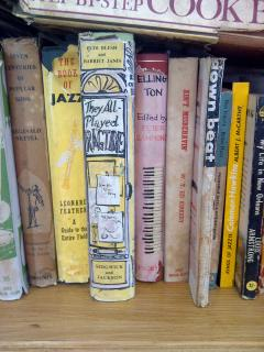 JazzCats has a large selection of books both classic and modern, fiction also non-fiction.