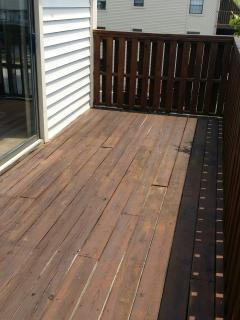 Deck off the Living Area