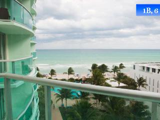 Sea View Apt For 6 In Hollywood Beach