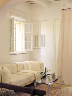 Villa Caprera. Suite Il Tinaio. The Living Room