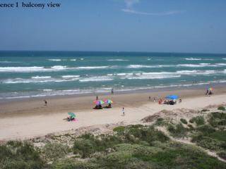 Beachfront PARADISE at it's best! Awesome views! S, Île de South Padre