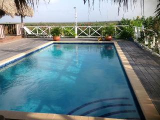 Large Hill Top House Great Island Round Views Large Pool Ocean View. Good Price, Kralendijk