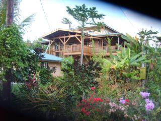 THE KAHONUA HOUSE AT THE WAI OPEA MARINE PRESERVE