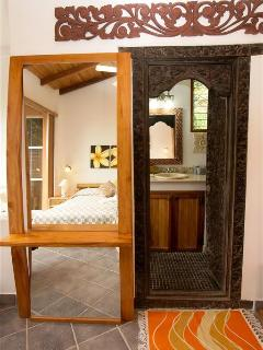 Detailed decor and wood work