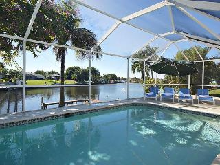 Villa Sunset Terrace, Gulf access, amazing view, Cape Coral