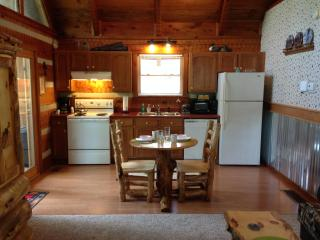 A Great little kitchen and log dinnette!