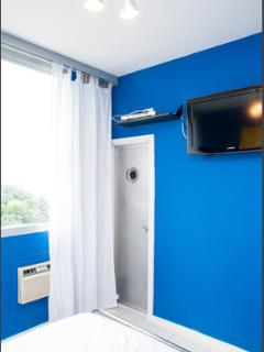 suite with fullhd tv