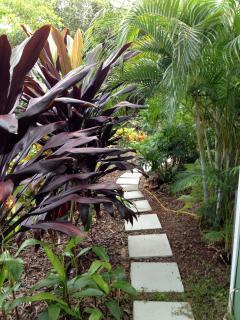 cottage walkway