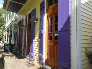 Steps to the French Quarter.  Stay in renovated history.