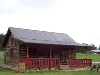 Restored log barn/cabin, Nemo