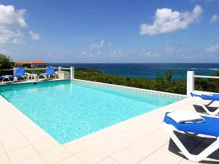 Anguilla Villa 56 The Pool Area And Gallery Offer Fabulous Ocean Views And Magnificent Sunsets., Long Bay Village