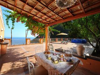 Huge terrace, sea view - V715, Positano