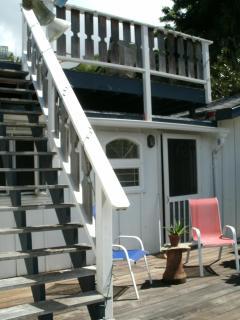 lanai and sun deck / observation deck