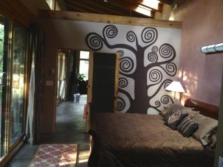 Master bedroom with Tree of Life