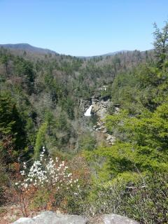 Linville Falls (approx. 9 miles away)