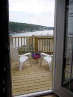 The Deck Overlooks the Harbour