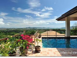 5 BDR Luxury seaview pool villa near Big Buddha, Chalong
