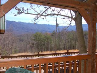 "Secluded ""CARRIES CABIN"" 30 acres near Gatlinburg"