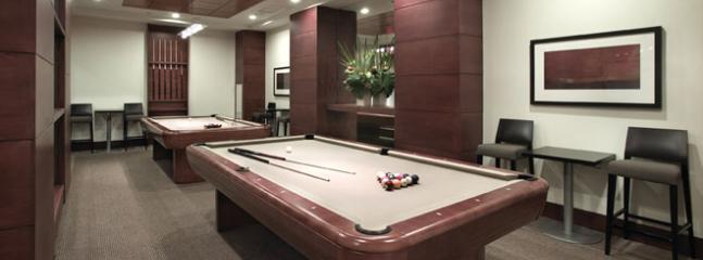 Billiards and games room