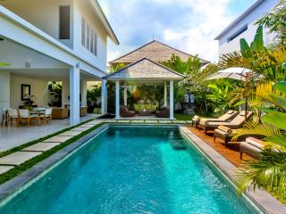 Central Seminyak Villa,  2 bedroom Luxury Tropical Modern  with pool and gazebo