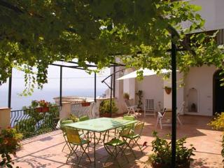 Casa san Luca In Praiano with terrace and sea view