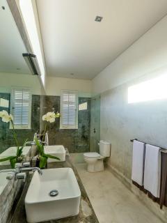 Master bedroom 1st floor ensuite bathroom with double vanity
