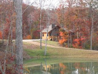 Cabin in fall color